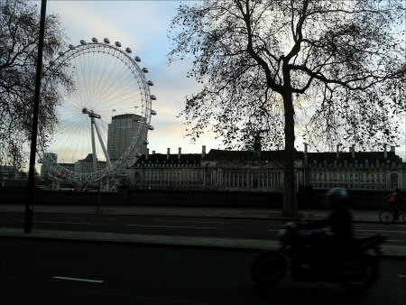 eye: London Eye from Street View.