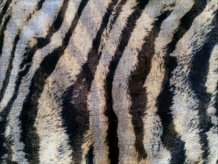 print: Tiger Print Fabric Texture