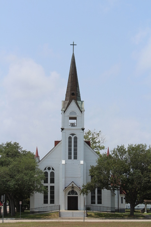 Historic Catholic Church Refugio Texas