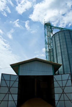 Silo in Thailand Stock Photo - 7605131