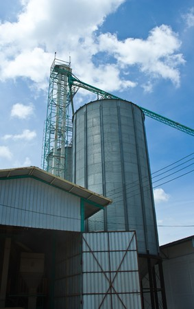 Silo in Thailand Stock Photo - 7605133