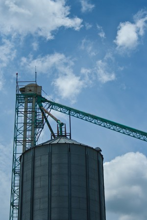 Silo in Thailand Stock Photo - 7605130