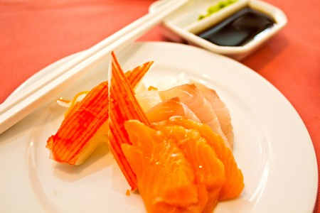 Sushi, Sashimi, traditional japanese food Stock Photo - 7886597