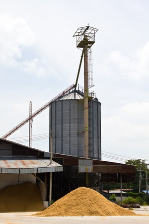 Grain silos in Thailand