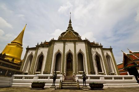 Church in Wat Phra Kaeo temple. Bangkok. Thailand.