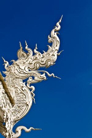 Element of Thai Art Taken from Wat Rong Khun,Chiang Rai province Thailand Stock Photo