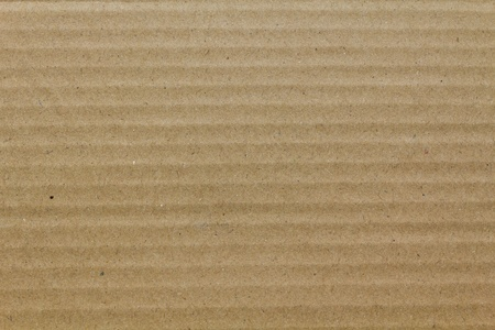 goffer: This is brown corrugated cardboard as background Stock Photo