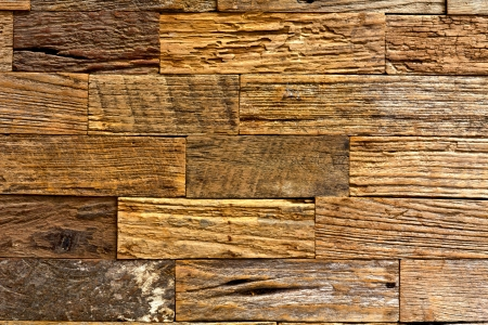 brown old wood texture with natural patterns for background Stock Photo