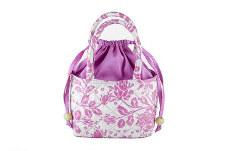 Women handbags made from silk