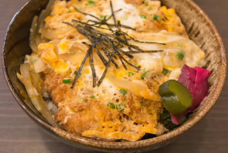 Pork Fried Rice with Egg Japanese style