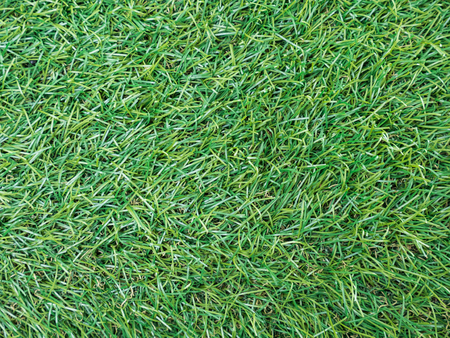 Background texture with fake grass top view.