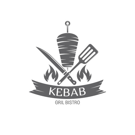 vector Kebab emblem