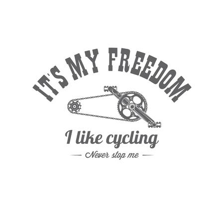 vector bicycle emblem Imagens
