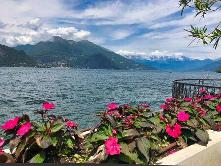 neighborhood Of Villa Melzi In Bellagio At The Famous Italian Lake Como, lake view