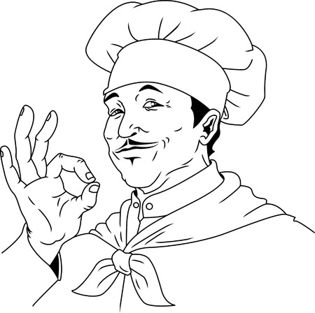 Küchenchef Standard-Bild - 24561656