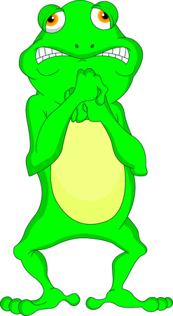 frolic: frog cartoon
