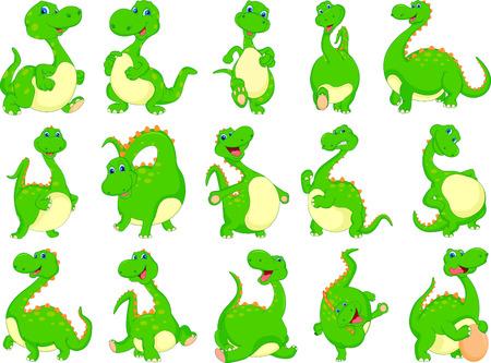vaus dinosaur cartoon Stock Vector - 28525202