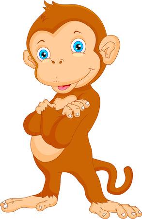 귀여운 원숭이 만화