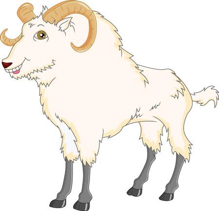 oveja negra: de cabra de dibujos animados