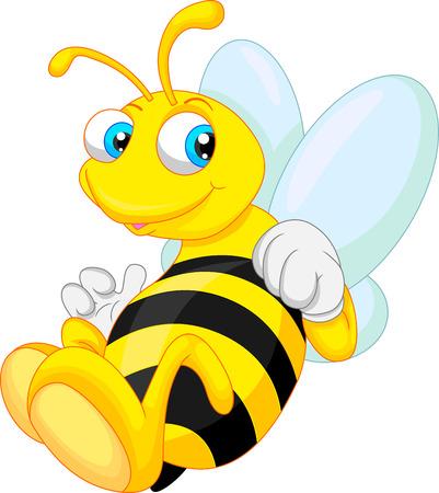sting: funny bee cartoon