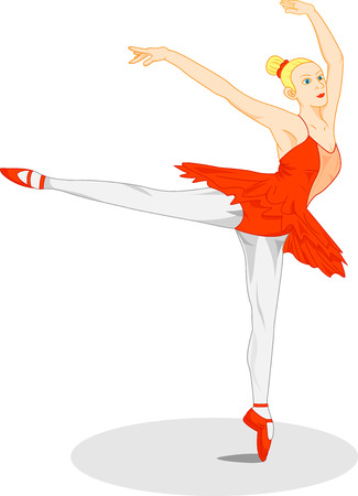 ballerina fairy: beautiful ballet dancer