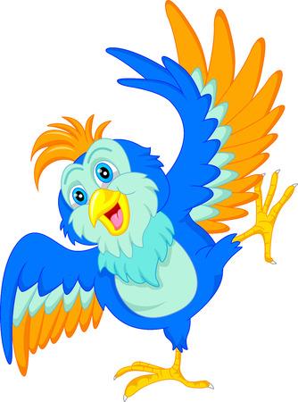 loveable: cute bird