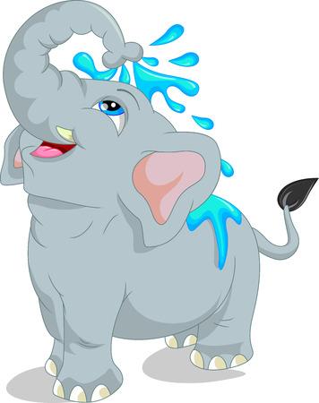 footballs: cute elephant cartoon