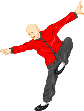 stance: shaolin monk kung fu martial arts
