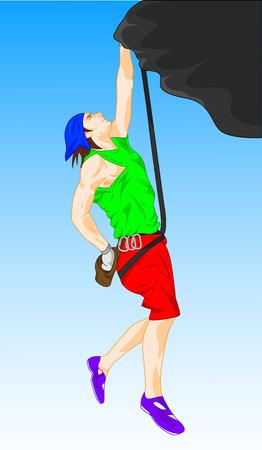 mountain climber: mountain climber