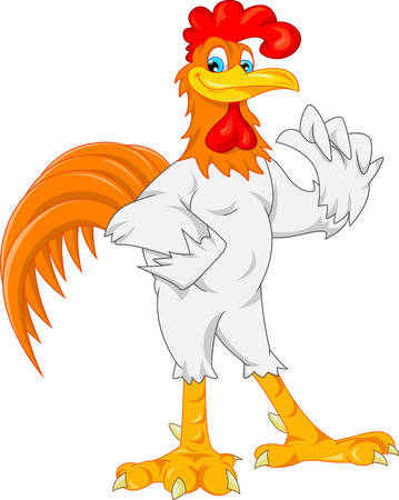 귀여운 닭 만화