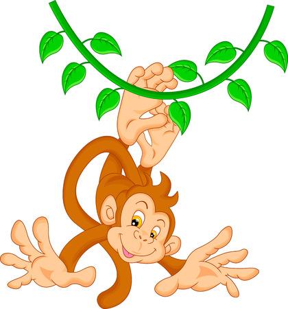 monitos: historieta linda del mono