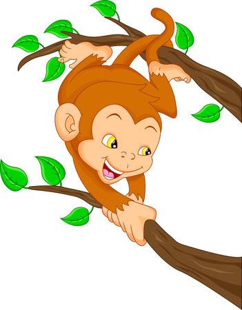 thumping: cute monkey cartoon