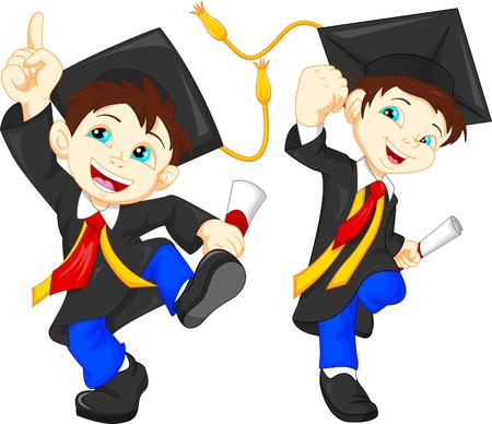graduacion niños: Graduados felices