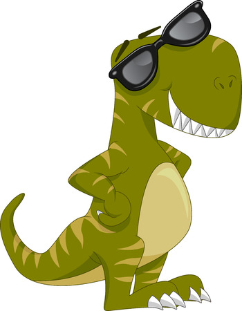 freaky: cute dinosaur cartoon