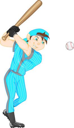 major league: boy baseball player