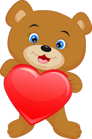 baby bear: cute baby bear cartoon Illustration