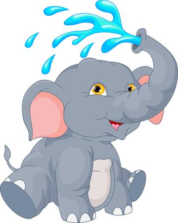 linda de la historieta del elefante