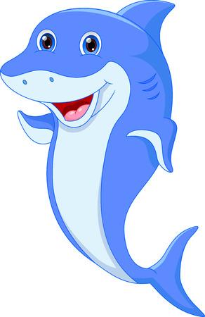 cetacean: Cute dolphin cartoon