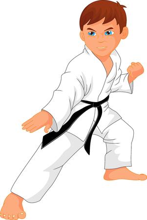 karate boy cartoon