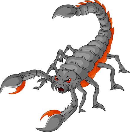 scorpion cartoon