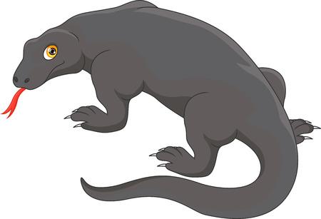 komodo dragon 向量圖像