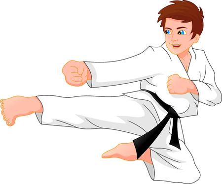 karate boy Çizim