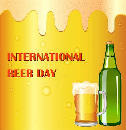 International beer day greeting