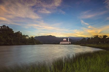 Darul Quran Mosque Sunrise Editorial