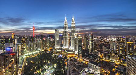 KLCC Twin Tower Editorial