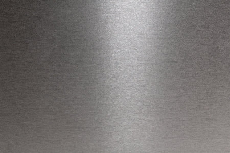 Texture of metal: Smooth brushed metallic texture as a background