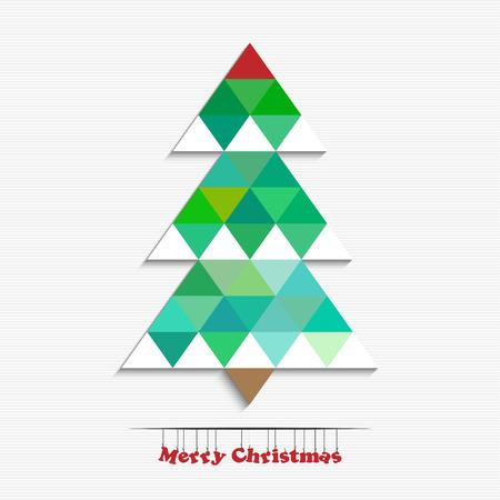 happy new years: Merry christmas and happy New Years tree