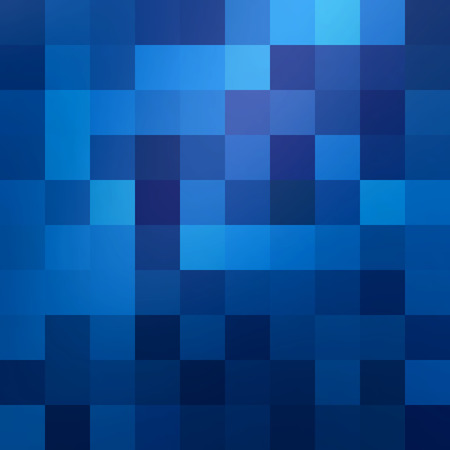 square abstract: Abstract blue colored wallpaper pattern as a background for your design