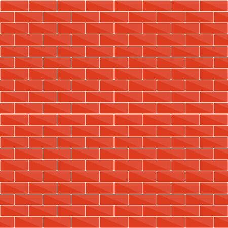 bakstenen muur: Seamless brick wall pattern for your design Stock Illustratie
