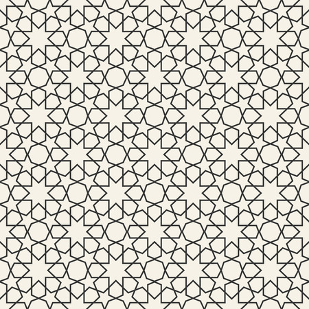 Abstract seamless geometric islamic wallpaper pattern for your design